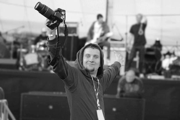 Łukasz Popielarz - jeden ze szczecińskich profesjonalnych fotografów