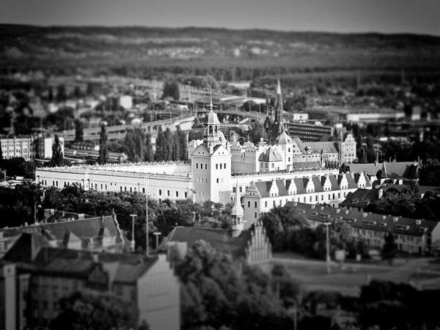 Zamek z lotu ptaka, autor zdjęcia: Przemysław Mielczarek