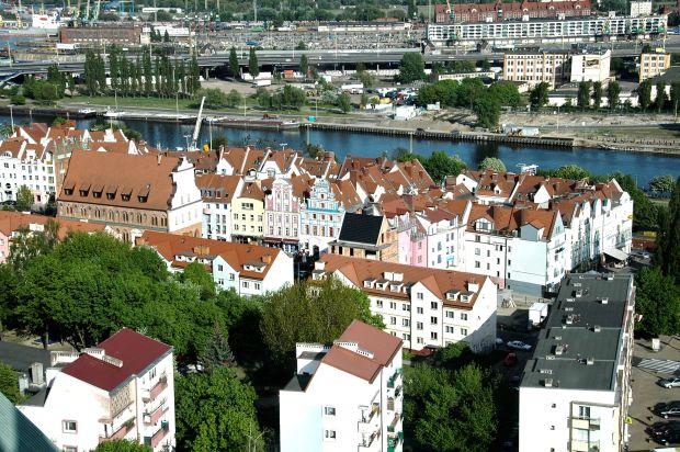 Stare Miasto z góry