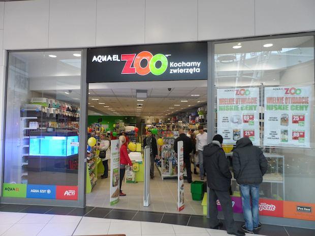 Nowy sklep zoologiczny na  poziomie 2 - obok salonu Play.