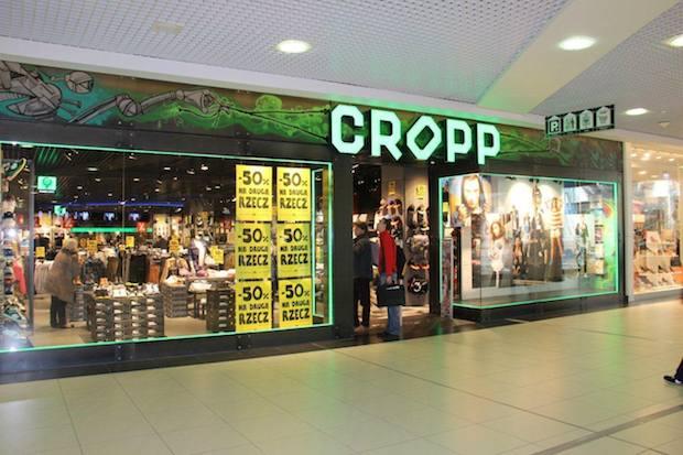 Na poziomie otworzono największy i najnowszy salon młodzieżowej marki CROPP w Szczecinie.
