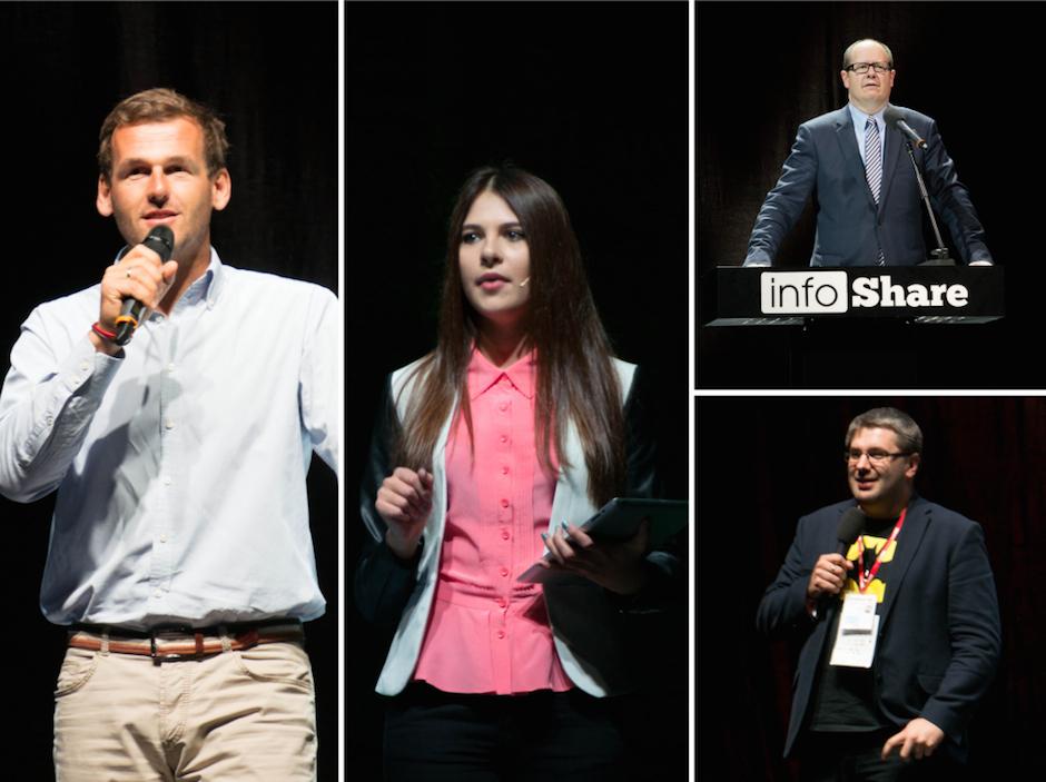W tym roku na Infoshare były dwie równoległe ścieżki + płatne i bezpłatne warsztaty. Prezentacje odbywały się w dwóch miejscach: Main Stage oraz XL Stage. Poziom mocno zróżnicowany, niektóre mocno inspirowały, inne totalnie rozczarowały.
