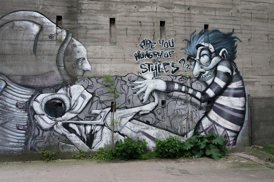 Energetyków - centrum szczecińskiego street artu