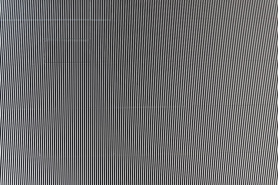 Aparat wariował, oczy się męczyły patrząc na tę ścianę. Czułem się, jakbym był na filmie 3D.