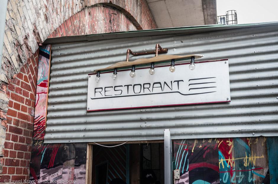 """Z osobami z Hotzmarkt spotkaliśmy się w ich restauracji, która również dostępna jest dla osób """"z zewnątrz"""""""