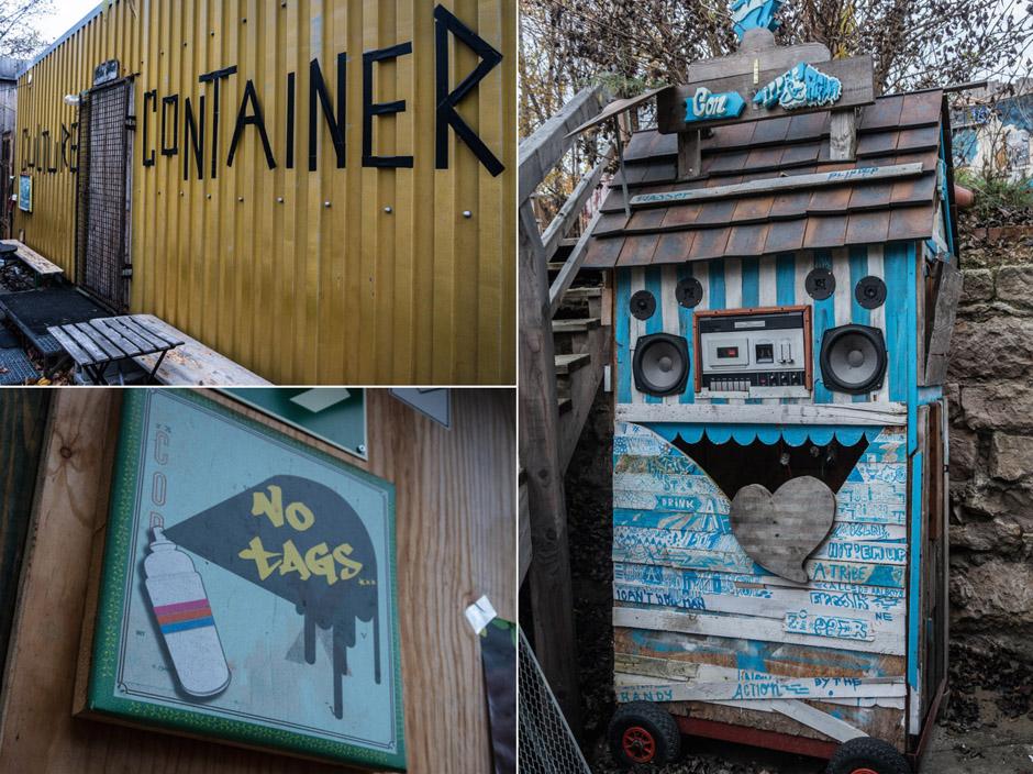 Na terenie Holtzmark pełno jest takich inspirujących instalacji.