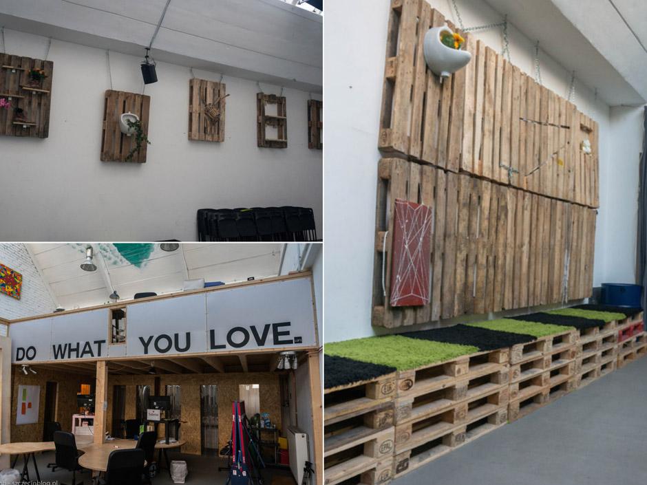 RainMaking Loft utrzymuje się z trzech obszarów działalności: wynajem przestrzeni w strefach coworkingowych oraz biur, wynajem przestrzeni na eventy oraz działalności Le Labo Bar.