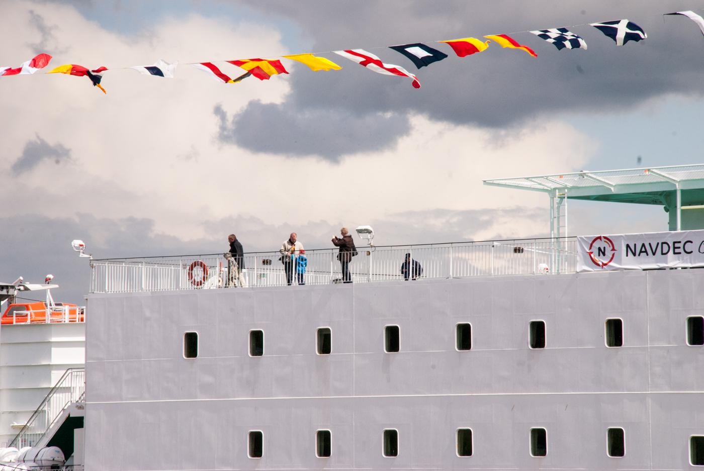 Mam nadzieję, że będzie jeszcze okazja zobaczyć tak duży statek na Wałach Chrobrego