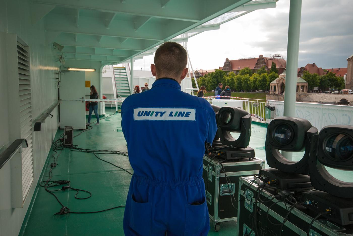 Załoga Unity Line czuwała nad bezpieczeństwem zwiedzających