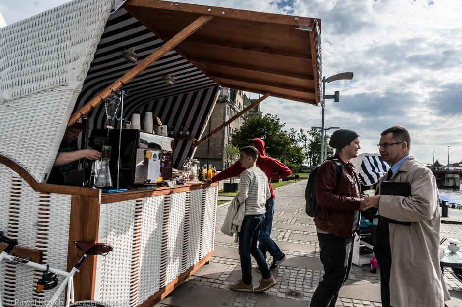 Początkiem wycieczki było nowe miejsce na bulwarze Gdyńskim - Bulwary Cafe.