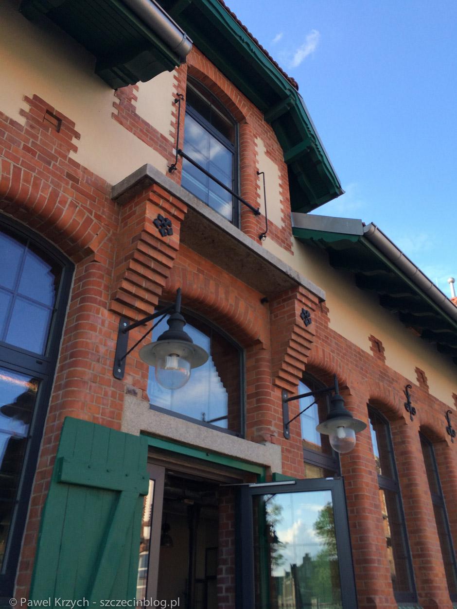Stara Rzeźnia - piękny obiekt, mam nadzieję, że niebawem kolejne budynki będą restaurowane.