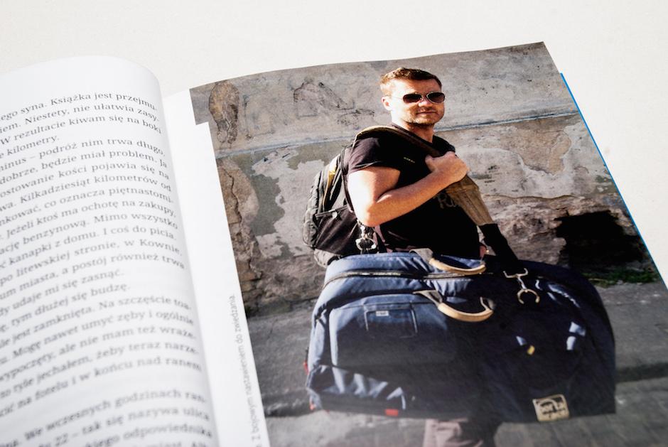 Jedna z książek Kuby Porady.
