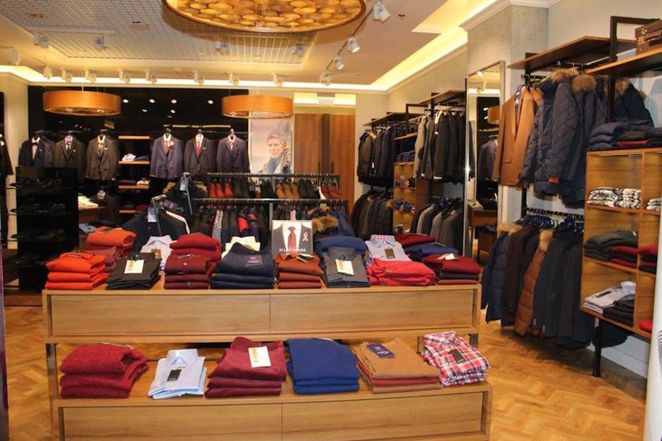 Na poziomie 1 otwarto wyremontowany salon Bytom - moda męska.