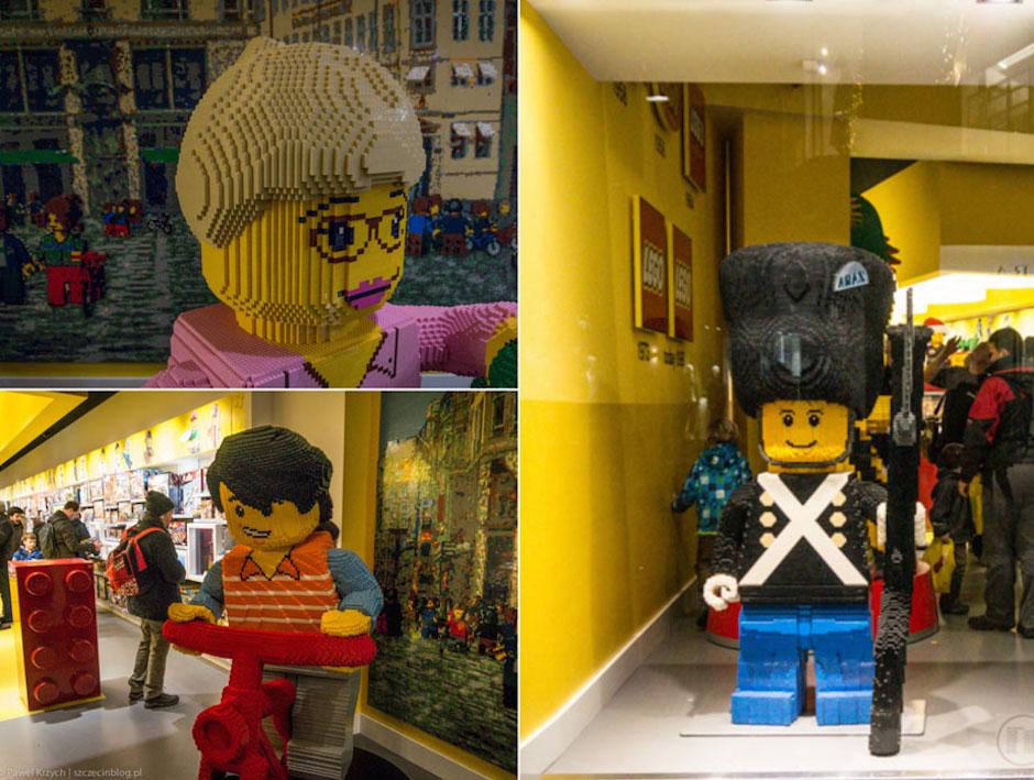 Oczywiście nie mogliśmy nie odwiedzić sklepu z LEGO.