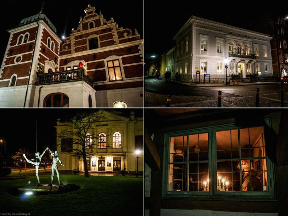 I przyszedł czas powrotu. Odwiedziliśmy jeszcze późnym wieczorem Ystad (przed wejściem na prom Unity Line). Wrażenia? Miasto duchów, spacerując przez 40 minut po mieście nie spotkaliśmy nikogo.